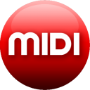 MIDI red icon