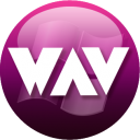 WAV plum icon