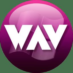 WAV plum icon