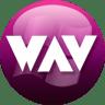 WAV-plum icon