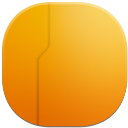 live folder back icon