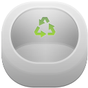 Recycle bin empty icon