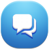 http://icons.iconarchive.com/icons/ampeross/qetto-2/72/conversations-icon.png