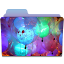 Folder Balloons icon