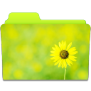 Folder Sunflower icon