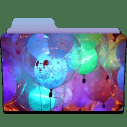 Folder Balloons icon