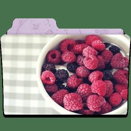Folder Raspberry icon