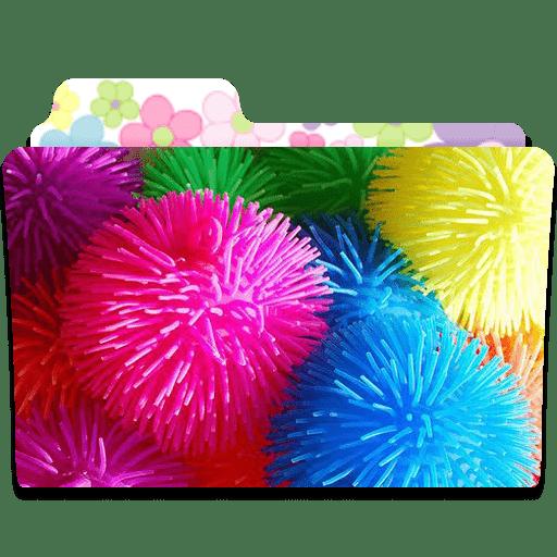 Folder Flower Icon   C...