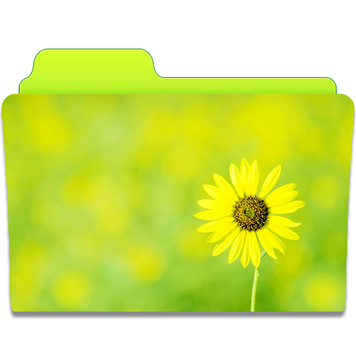 Folder-Sunflower icon