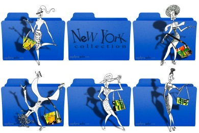 New York Folder Icons