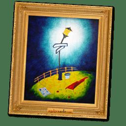 the blue bridge icon
