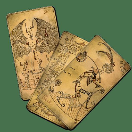Tarot set icon
