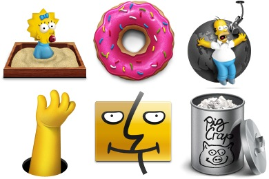 Simpsons Icons