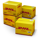 DHL-Shipping-Box icon