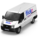 Flickr Van Front icon