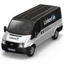 Linkedin Van Front icon