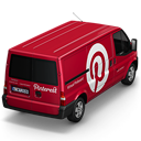 Pinterest-Van-Back icon