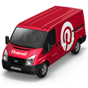 Pinterest-Van-Front icon