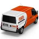 TNT Van Back icon