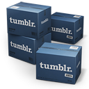 Tumblr Shipping Box icon