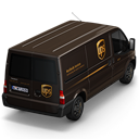 UPS-Van-Back icon