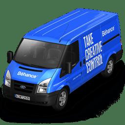 Behance Van Front icon