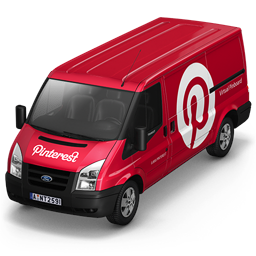 Pinterest Van Front icon