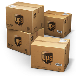 UPS Shipping Box icon