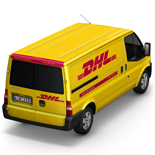 DHL-Van-Back icon