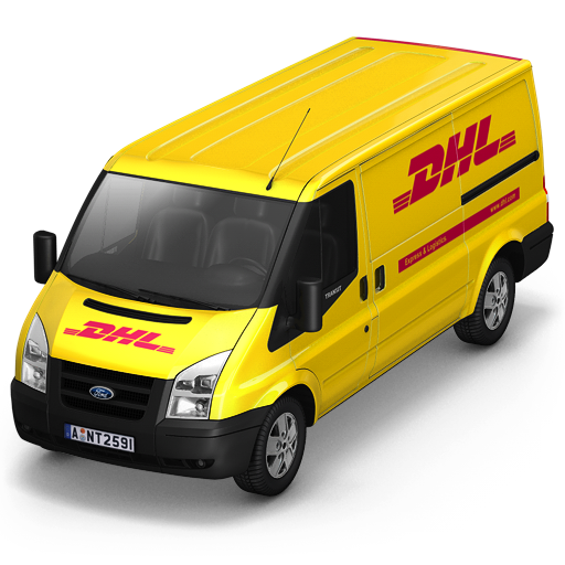 DHL-Van-Front icon