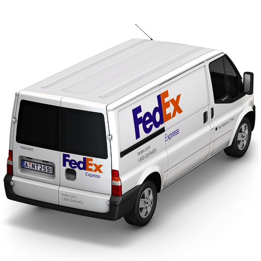 FedEx Van Back icon