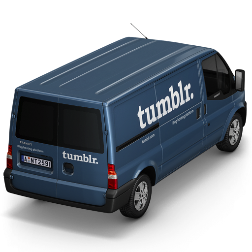 Tumblr-Van-Back icon