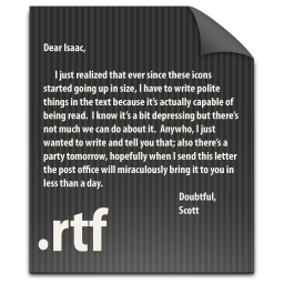 File RTF icon