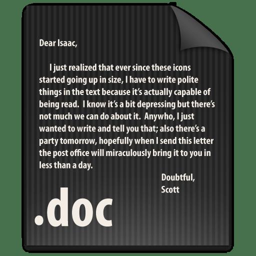 File-DOC icon