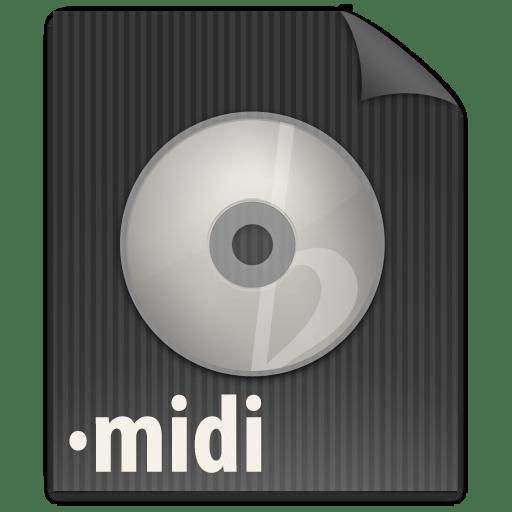 File MIDI icon
