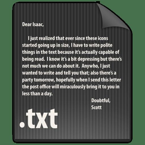 File-TXT icon