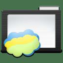 Folder Dark Nimbus icon