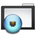 Folder-Dark-Network icon
