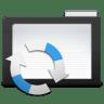 Folder-Dark-Arrows icon