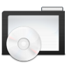 Folder-Dark-Music icon