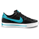 nike classic shoe blue icon