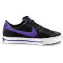 nike classic shoe purple icon