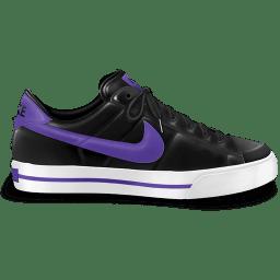 Nike classic shoe purple icon