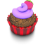 Berry-Cupcake icon