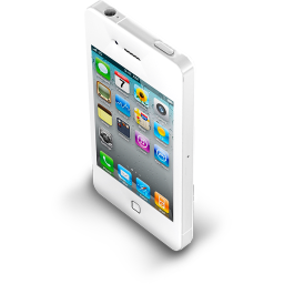 iPhone 4 White icon