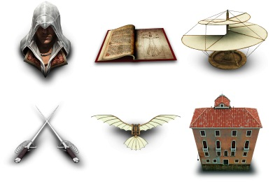 Assassins Creed II Icons