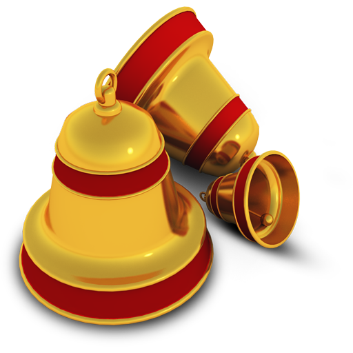 Xmas Bells Icon Christmas Iconset Archigraphs