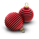 Xmas Ringed Balls icon