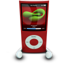 iPodPhonesRed icon