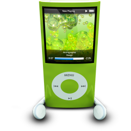 iPodPhonesGreen icon